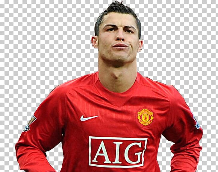 online retailer d5d89 12f05 Cristiano Ronaldo Manchester United F.C. Jersey Football PNG ...