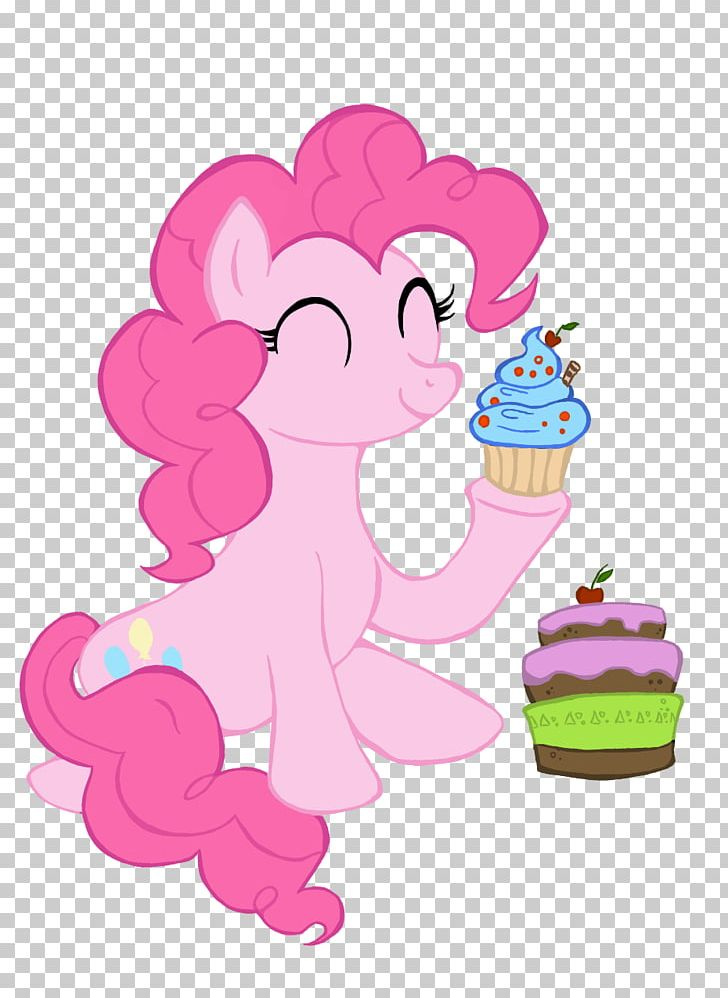 Pinkie Pie Cupcake Pony Bakery Rainbow Dash PNG, Clipart, Cake, Cartoon, Deviantart, Fictional Character, Flower Free PNG Download