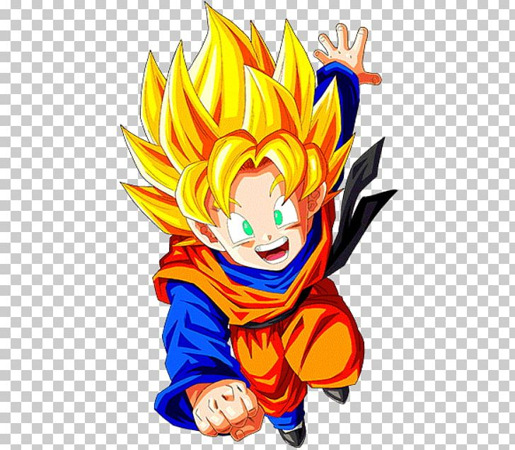 Goten Dragon Ball Z Dokkan Battle Goku Trunks Vegeta Png