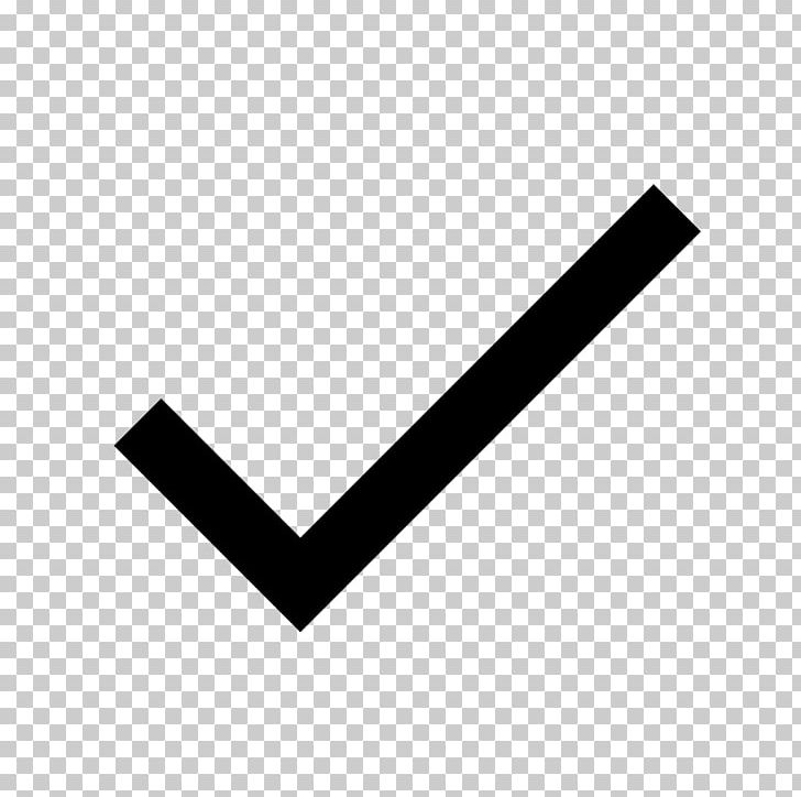 Computer Icons Check Mark Icon Design PNG, Clipart, Angle, Black, Black And White, Brand, Checkbox Free PNG Download