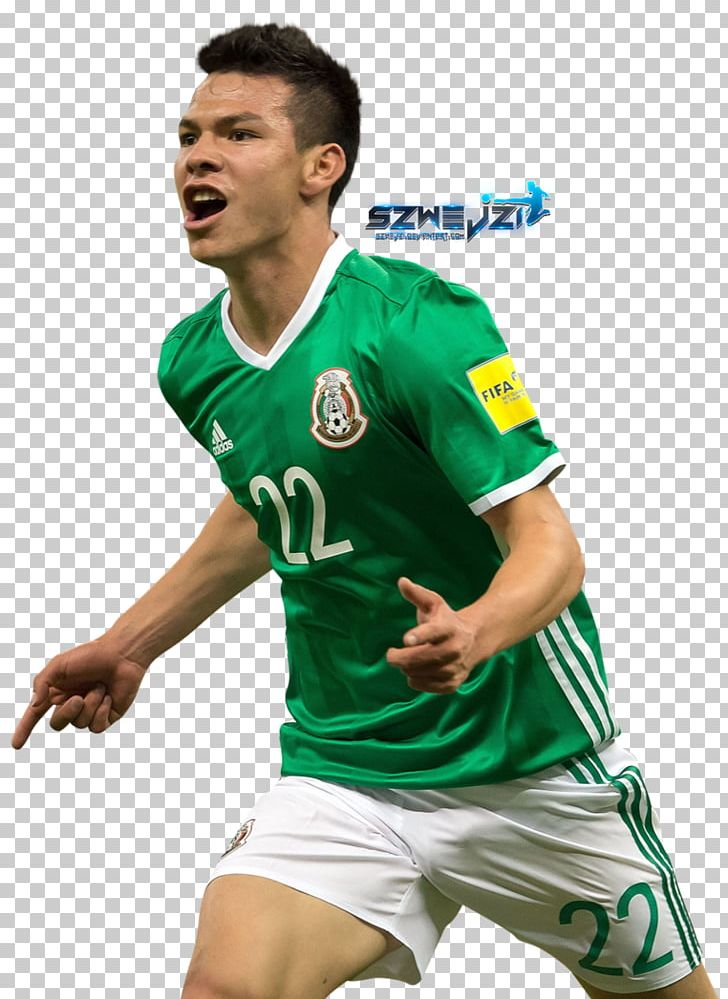 promo code be4a6 3ef50 Hirving Lozano 2018 World Cup Mexico National Football Team ...