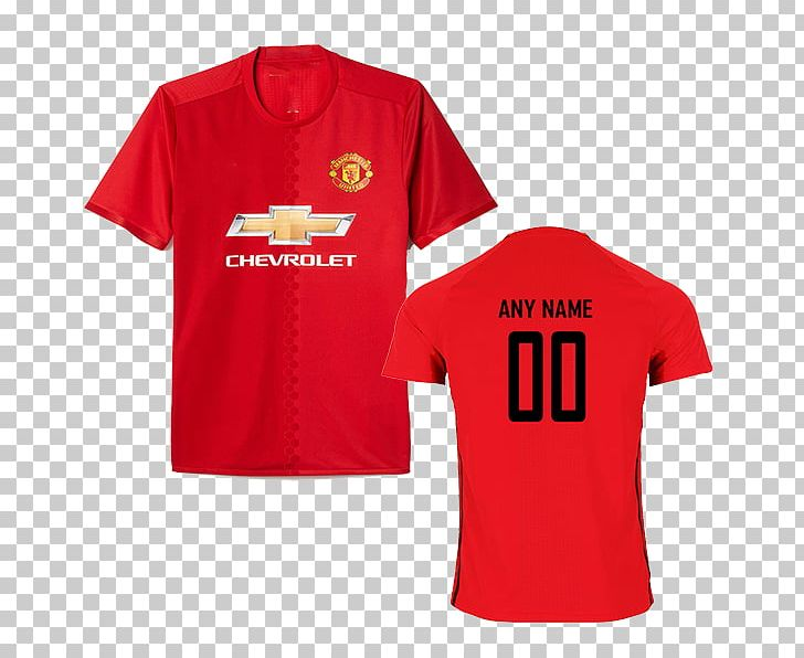 pretty nice 04a66 41e34 T-shirt Manchester United F.C. Jersey Football PNG, Clipart ...