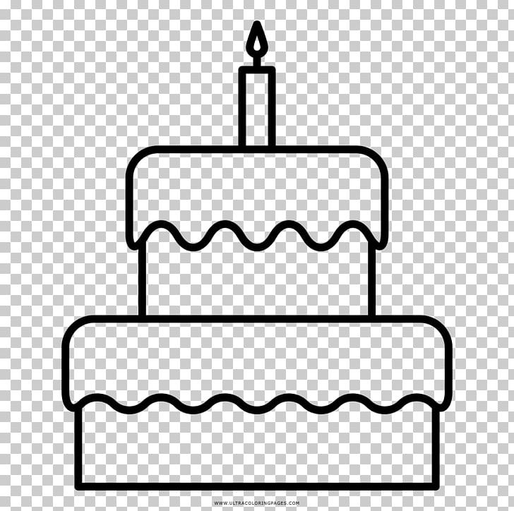 Birthday Cake Drawing Coloring Book Png Clipart Birthday Birthday Cake Black Black And White Cake Free