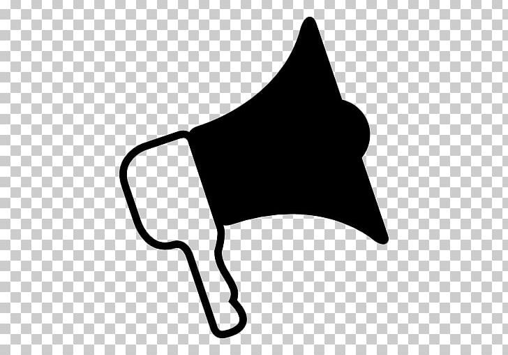 Loudspeaker Computer Icons Symbol PNG, Clipart, Arrow, Black, Black And White, Computer Icons, Cone Free PNG Download