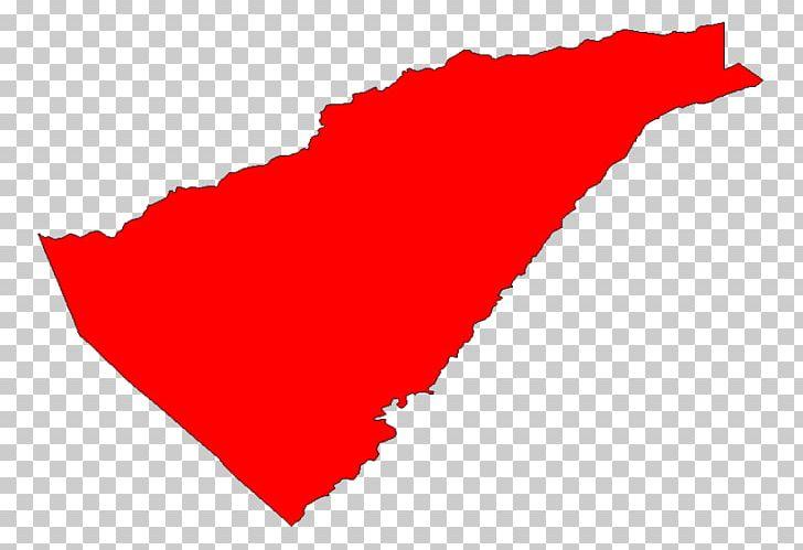 California heart. Line point angle leaf