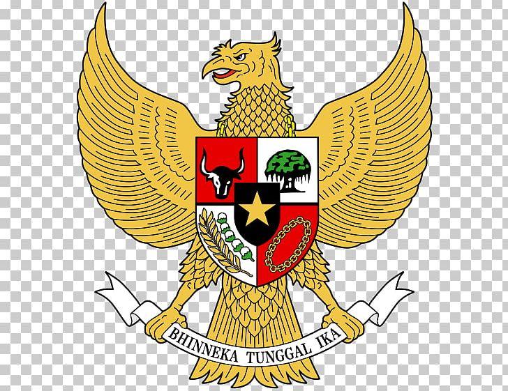 National Emblem Of Indonesia Coat Of Arms Garuda Pancasila