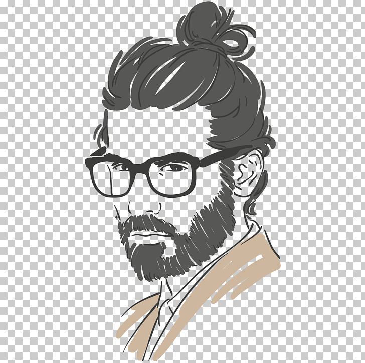 Long Hair Hair Care Male Drawing Png Clipart Business Man