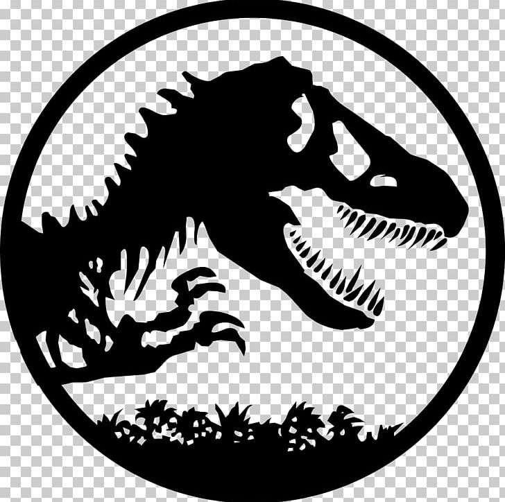 YouTube Jurassic Park Logo Drawing PNG, Clipart, Artwork, Black And White, Blu, Blu Ray, Dinosaur Free PNG Download