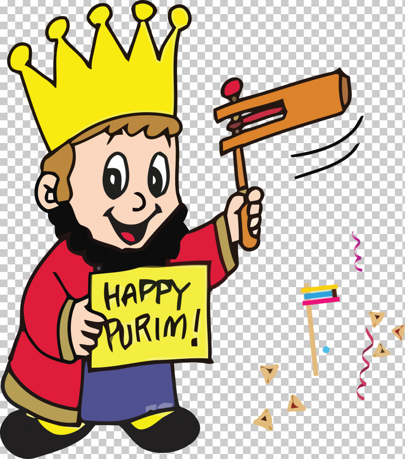 Purim Jewish Holiday PNG, Clipart, Cartoon, Celebrating, Happy, Holiday, Jewish Free PNG Download