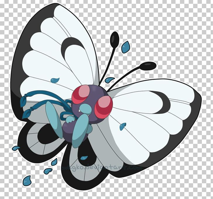 Pokémon Firered And Leafgreen Butterfree Monarch Butterfly Pokémon