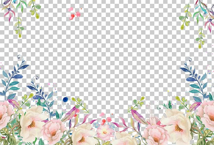 Floral Decorative Frame PNG, Clipart, Border Frame, Cartoon, Design, Drawing, Flor Free PNG Download