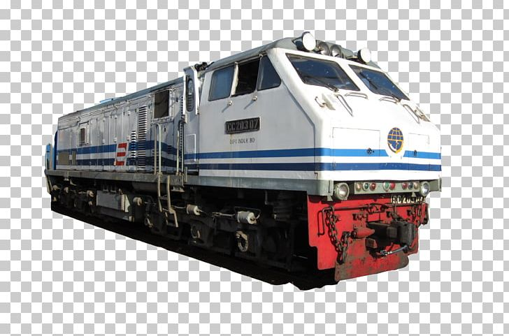 Train Rail Transport Electric Locomotive Indonesia PNG