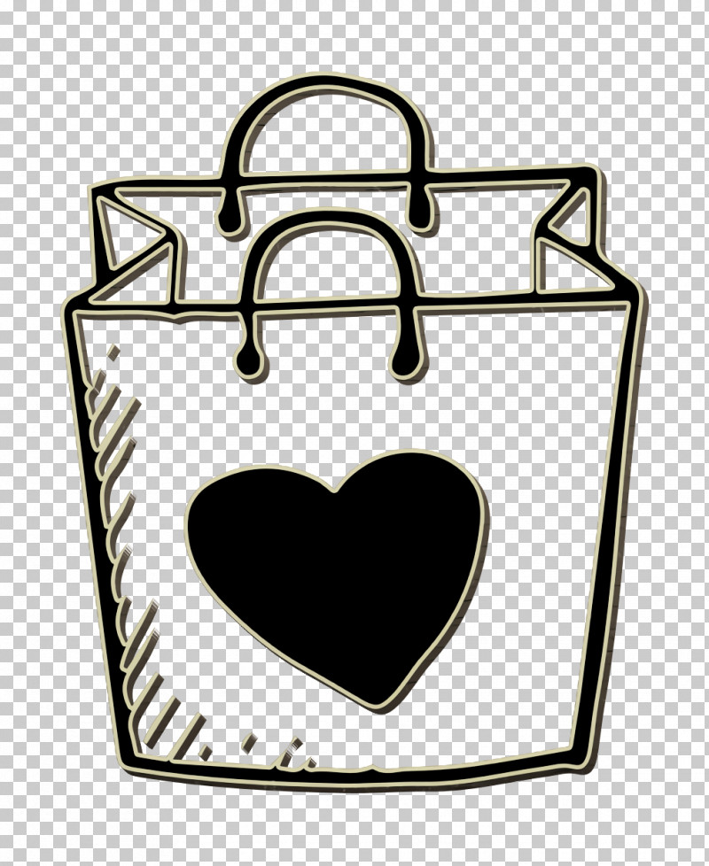 Shopping Bag Icon Commerce Icon Hand Drawn Love Elements Icon PNG, Clipart, Bag, Commerce Icon, Hand Drawn Love Elements Icon, Online Shopping, Shopper Icon Free PNG Download