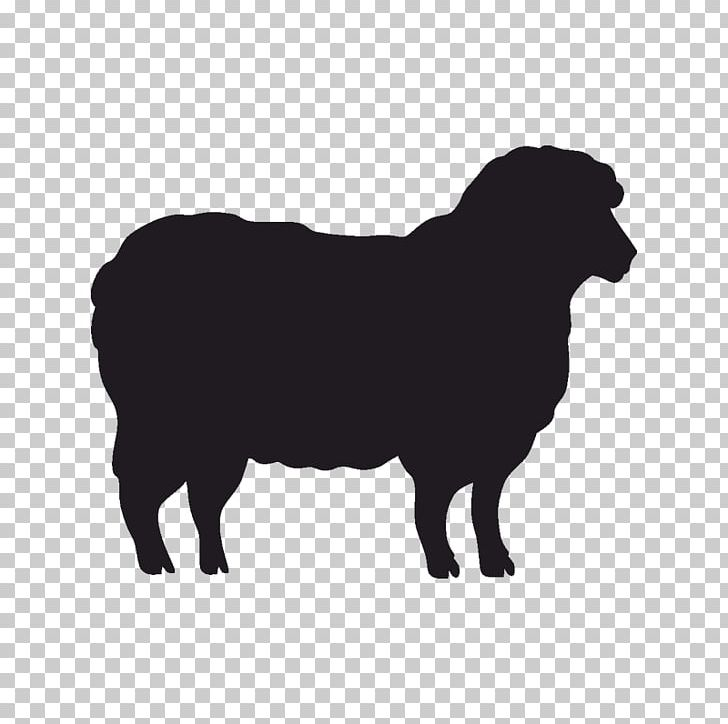 Sheep Stencil Silhouette Goat Cattle PNG, Clipart, Animals ...
