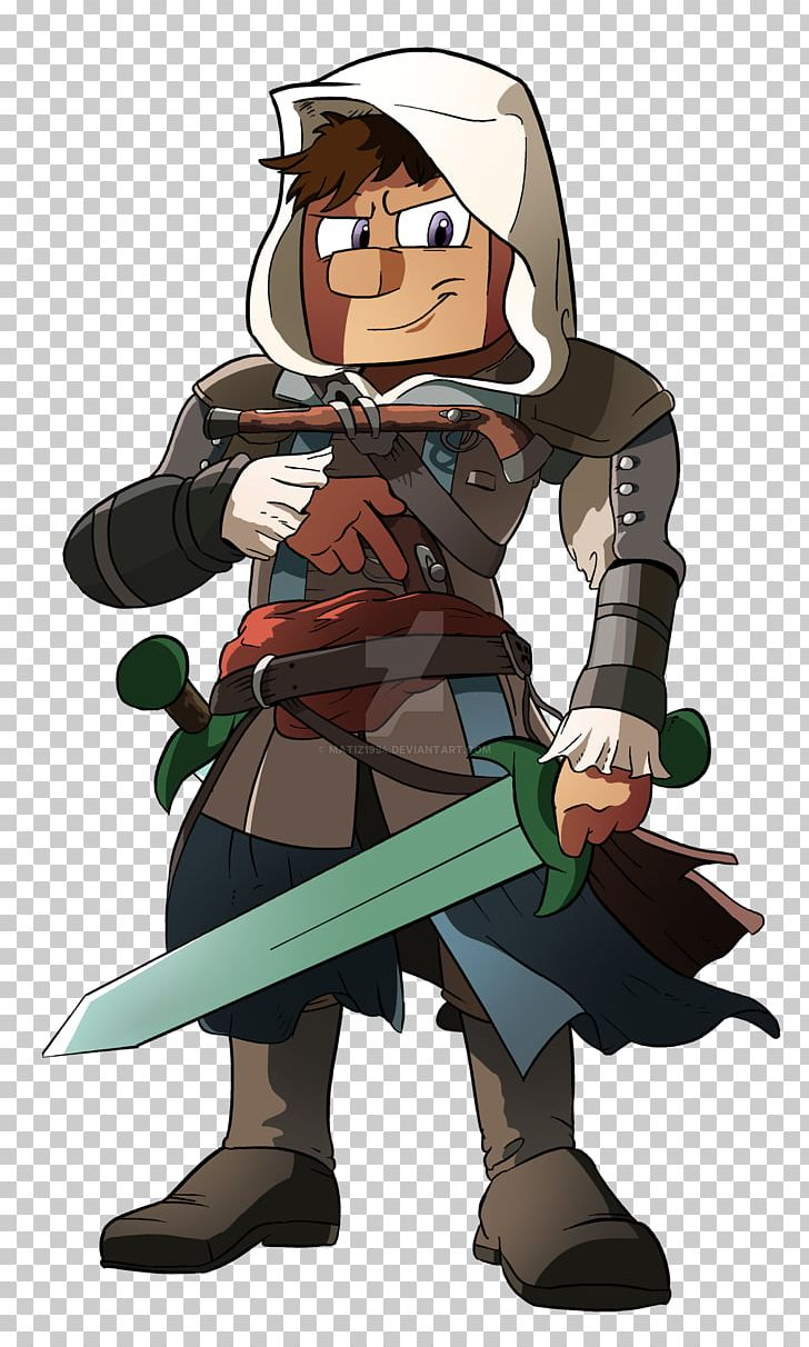 Minecraft Assassin S Creed Iii Art Drawing Png Clipart