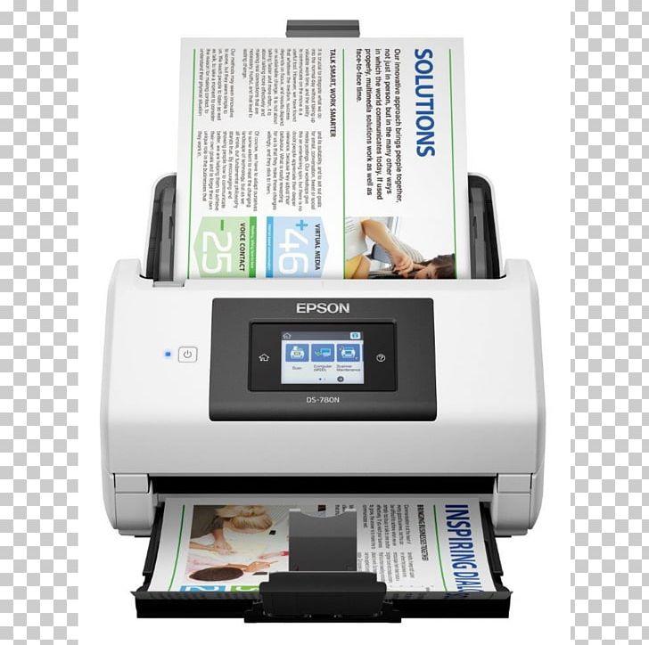 Inkjet Printing Epson America Ds780n WorkForce Scanner