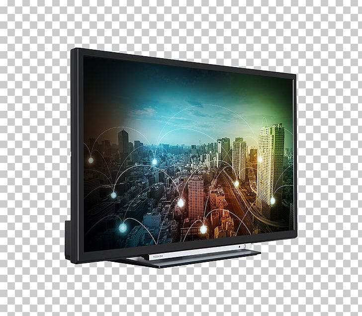 High-definition Television Toshiba TV LED-backlit LCD