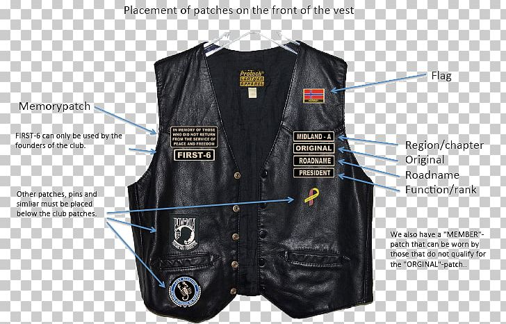 Leather Jacket Outlaw Motorcycle Club Hells Angels PNG