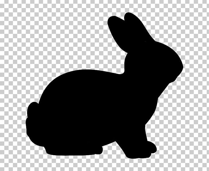Easter Bunny Rabbit Silhouette PNG, Clipart, Animals, Black, Black And White, Bunny Rabbit, Carnivoran Free PNG Download