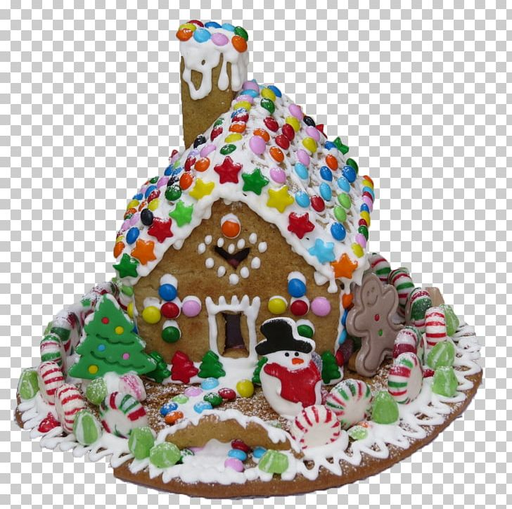 Gingerbread House Icing Christmas Pastry PNG, Clipart, Baking, Cake, Cake Decorating, Christmas, Christmas Decoration Free PNG Download