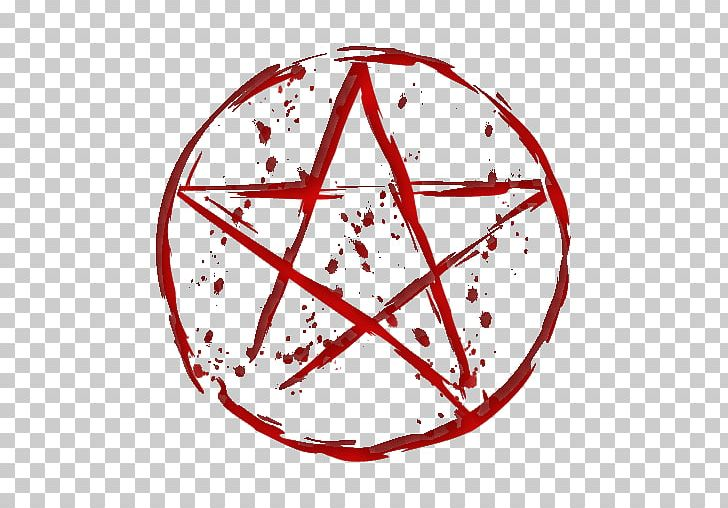 Pentagram Pentacle Wicca Modern Paganism PNG, Clipart, Area, Blood, Circle, Fivepointed Star, Line Free PNG Download
