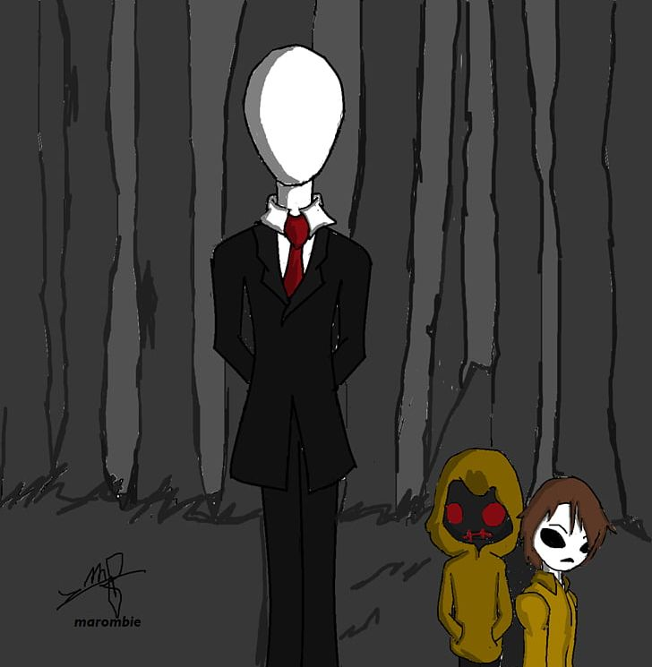 Michael Myers Slenderman Drawing Creepypasta Jeff The Killer