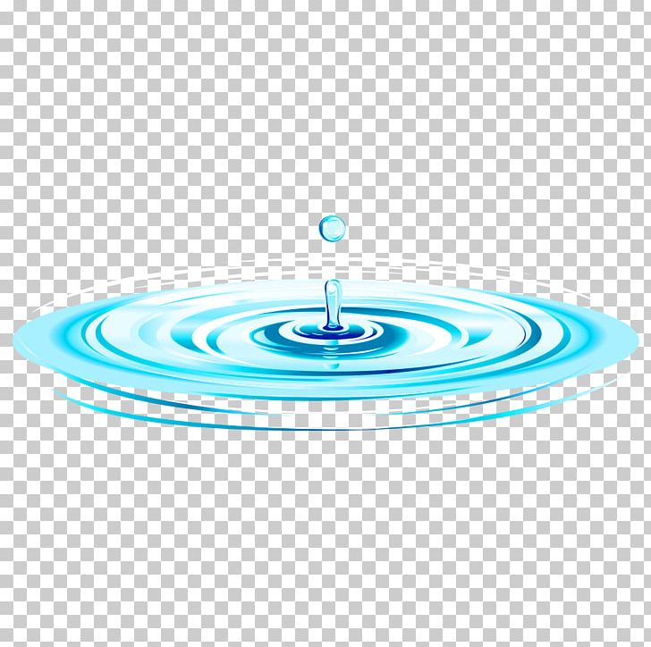 Water Drop Capillary Wave PNG, Clipart, Aqua, Blue, Blue Background, Circle, Dispersion Free PNG Download