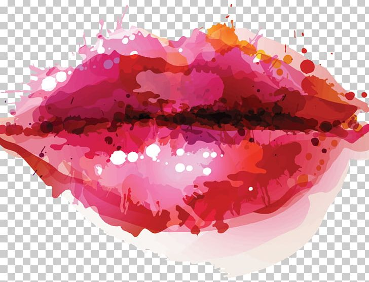 Watercolor Lips Illustration PNG, Clipart, Art, Artificial Intelligence, Boutique, Drawing, Fashion Illustration Free PNG Download