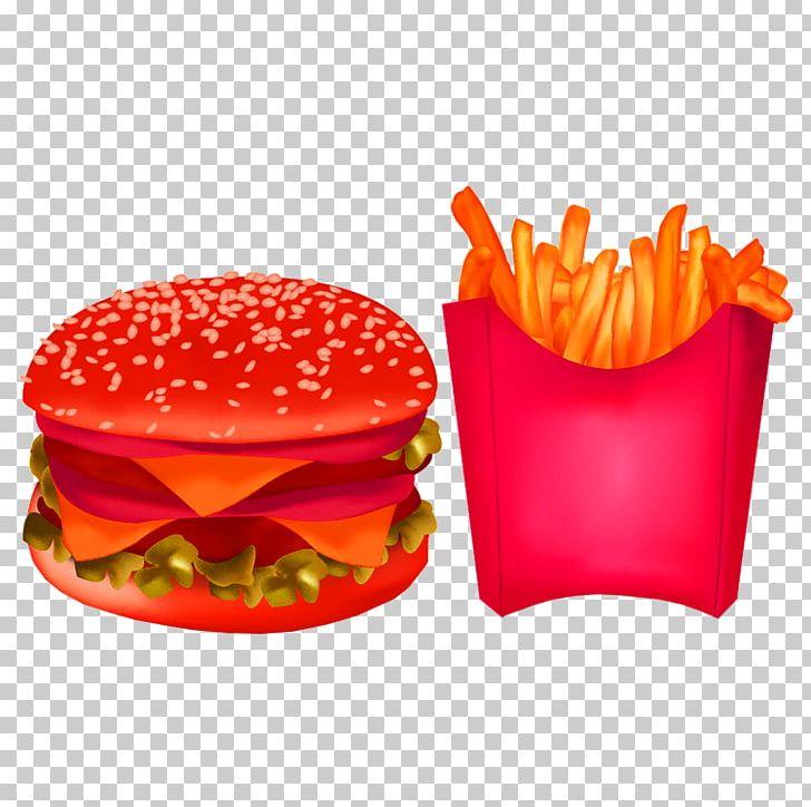 French Fries Cheeseburger Hamburger Fast Food Junk Food PNG, Clipart, Cheeseburger, Deep Frying, Download, Fast Food, Food Free PNG Download