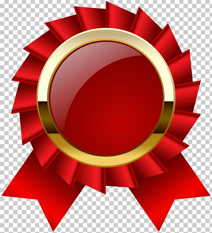 Ribbon circle. Award medal png clipart