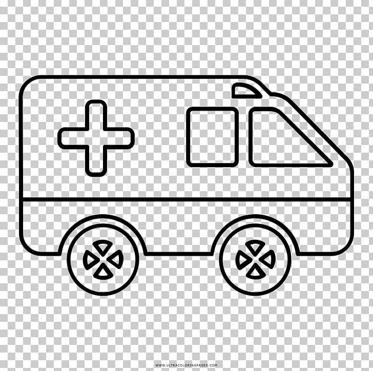 Car Coloring Book Drawing Ambulance Ausmalbild Png Clipart
