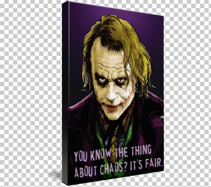50101e1a Joker Heath Ledger The Dark Knight Batman Canvas PNG, Clipart, Free PNG  Download