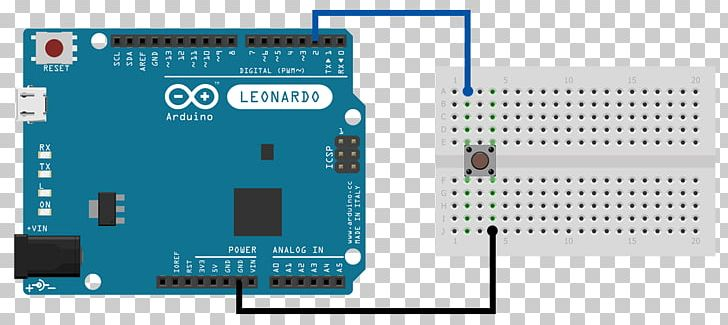 Computer Keyboard Arduino Push-on Electrical Switches ... on