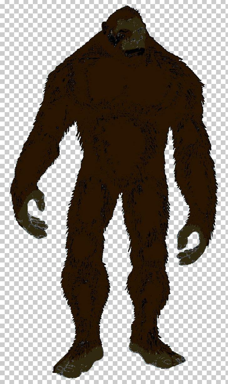 Bigfoot Silhouette Yeti Png Clipart Animals Art Bigfoot