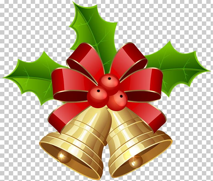 Christmas Decoration Jingle Bell Png Clipart Aquifoliaceae