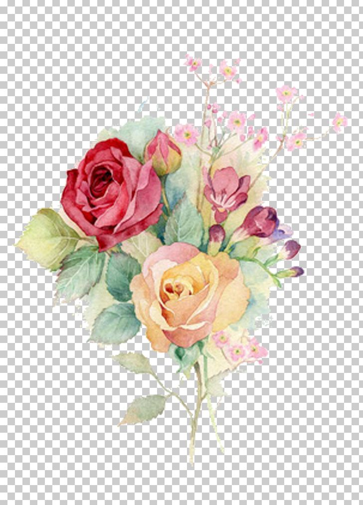 Watercolour Flowers Watercolor Painting Rose Art Png Clipart