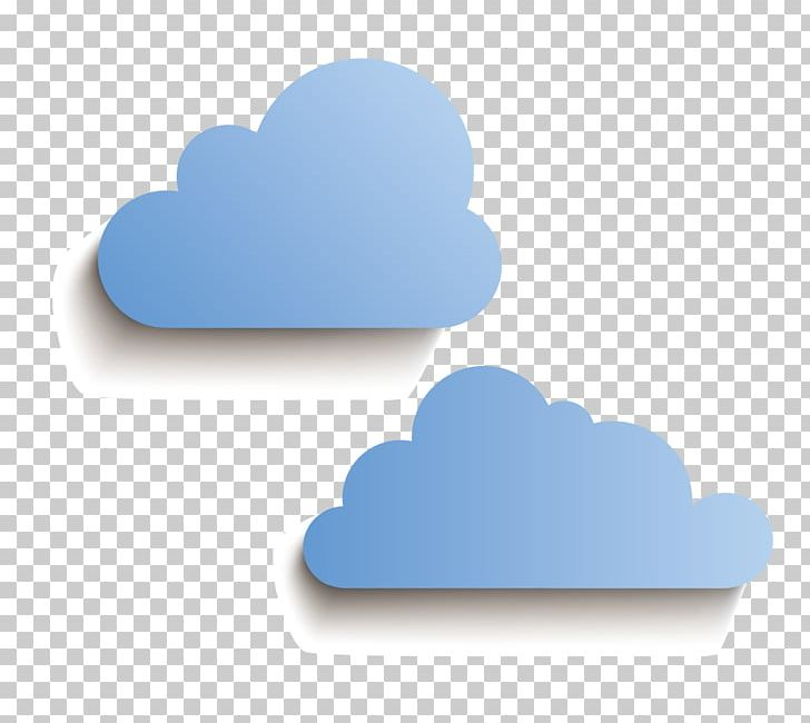 Paper Cloud PNG, Clipart, Adobe Ill, Blue Abstract, Blue
