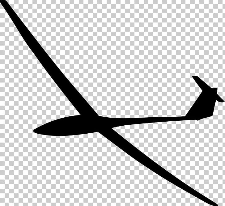 Airplane Glider Silhouette Gliding Png Clipart Aircraft