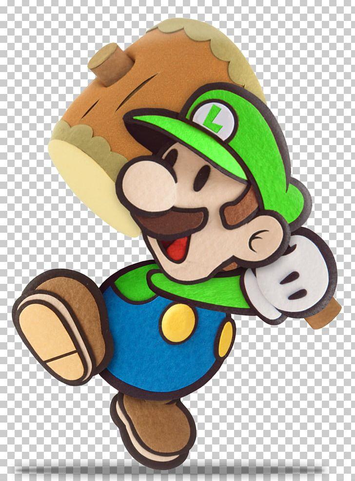 Luigi paper. Mario jam sticker star