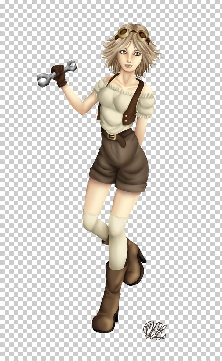 Steampunk Fiction Clothing Costume PNG, Clipart, Action Figure, Anime, Bit, Cartoon, Clothing Free PNG Download