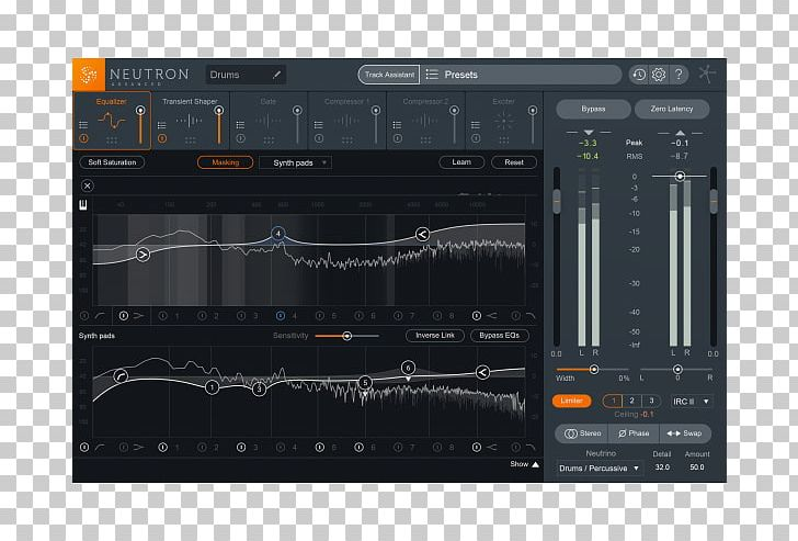 IZotope Computer Software Audio Mastering Audio Mixing Music PNG