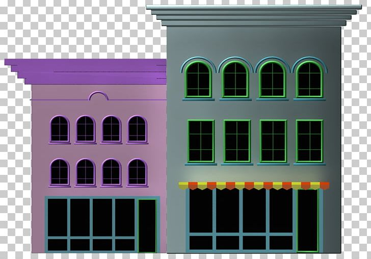Building Cartoon House PNG, Clipart, 3d Modeling, Animated