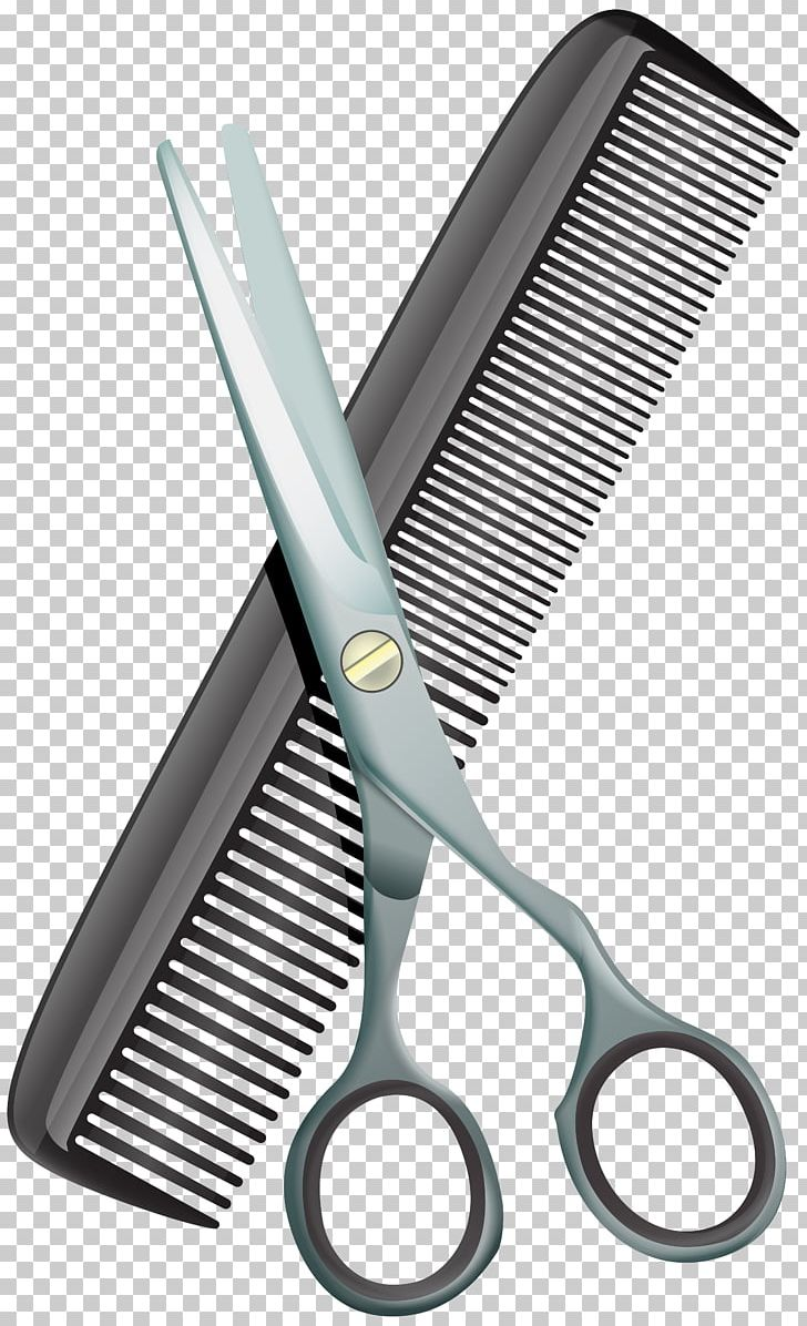 Comb Scissors Hair-cutting Shears PNG, Clipart, Barber, Beauty Parlour, Clip Art, Clipart, Comb Free PNG Download