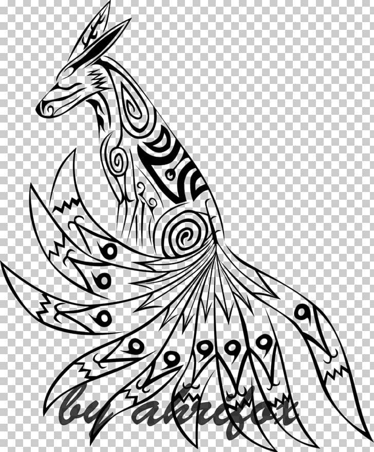 Tattoo Kurama Line Art Naruto Png Clipart Art Arts