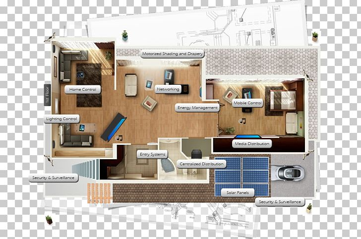 Home Automation Kits Floor Plan House Apartment Png