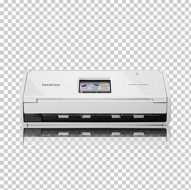 Inkjet Printing Scanner Brother ADS-1600W Document Scanner Brother