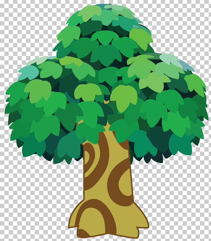 Animal Crossing New Leaf Tree Video Game Png Clipart