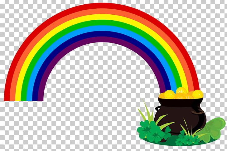 Rainbow Pot Of Gold Leprechaun PNG, Clipart, Circle, Clip Art, Color, Free Content, Gold Free PNG Download