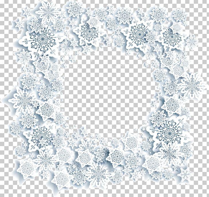 Snowflake Drawing Christmas PNG, Clipart, Area, Border, Border Texture, Christmas, Circle Free PNG Download