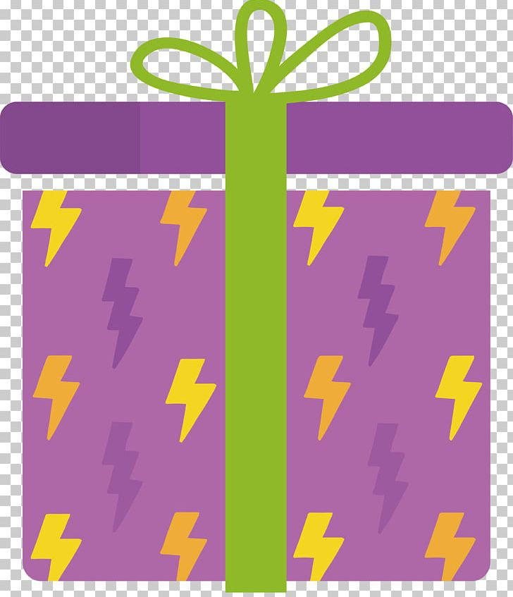 Purple Gift Box Design Png Clipart Angle Area Birthday Birthday Present Cartoon Box Free Png Download